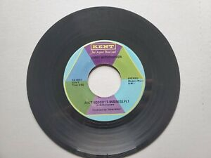 """JIMMY WITHERSPOON - Ain't Nobody's Business 1947 R&B BLUES 7"""" Kent VG+"""