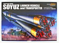 Good Smile Soyuz Rocket & Transport Train 1/150 Plastic Model Kit