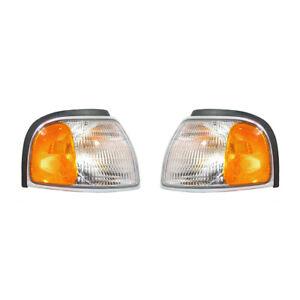 NEW SET OF TWO TURN SIGNAL LIGHTS FITS MAZDA B2500 1998-2000 MA2520112 1F0051121