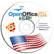 Major Brand Open Office Suite 2017 For Microsoft Windows Xp/7/8/10 student& Home