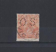 1920/1 Australia KG V SG 071 2d Single Wmk Orange OS used