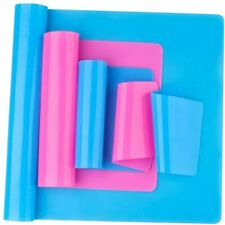 Reusable Silicone Mat Set A3, A4, A5, A6 Resin Crafts Jewelry Casting Placemats