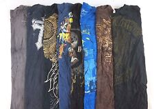 Affliction Marc Ecko Lot of 8 Men's Short Slv Graphic Tee Shirts Small S BC11934