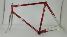 ROSSIN Record Factory Race Columbus SL Steel Road Bike Frameset, 56cm, 700c