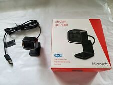 USED and OPENED Microsoft LifeCam HD-5000 720p HD Web Cam