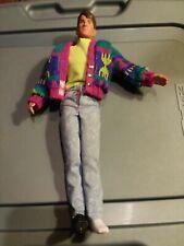 "12"" New Kids On The Block Doll Johnathon 1990 Big Step Hasbro"