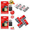 Sandisk 32GB 64GB 128GB Ultra Micro SD SDHC TF Memory Card 80MBs UHSI Class 10