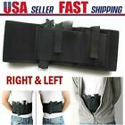 Elastic Holster Tactical Concealed Carry Belly Band with 2 Pouches High Quality