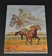 Fred Stone - American Pharaoh Canvas - Collectible Race Horse Canvas