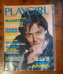 PLAYGIRL  February 1985 PAUL McCARTNEY
