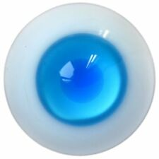 Glass Eyes For 1//4 BJD Iplehouse Dollfie Luts Ooak Gray/&White Nice 14MM Round
