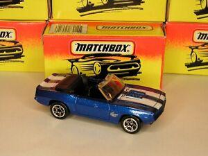 Vintage Matchbox ~'69 Camaro SS~ NEW in Original Box! MINT! No. 40