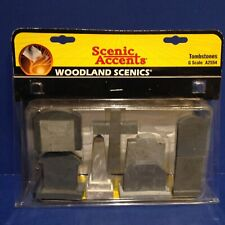 Woodland Scenics G Scale TOMBSTONES A2554 New!
