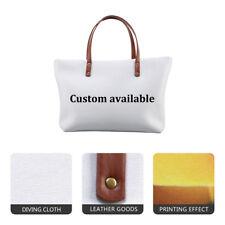 Custom Design Made Women Handbag Purse Shopping Shoulder Bag Large Tote Satchel