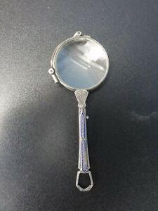 MONOKEL BRILLE 935 Silber UM 1920