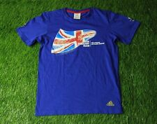 GREAT BRITAIN OLYMPIC games 2012 T-SHIRT TEE JERSEY ADIDAS ORIGINAL SIZE XS