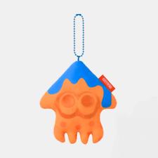 Nintendo TOKYO Splatoon Mascot Key chain Squid Orange INK YOU UP Japan NEW