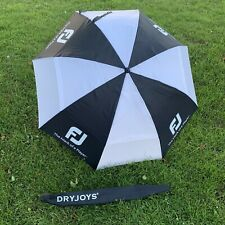 FootJoy DryJoys 68 inch Double Canopy Golf Umbrella