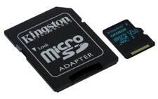 Kingston Canvas Go! 128GB microSD Card with SD Adapter - Class 10 UHS-I U3