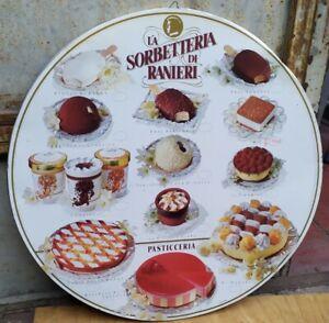 Insegna tabella gelati edizione limitata la sorbetteria di Ranieri vintage