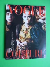 VOGUE Unique Italia supplemento 625 Settembre 2002 Michel Comte julia epson