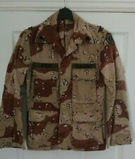 More details for us army  6 colour desert chocolate chip desert storm coat / jacket xsmall