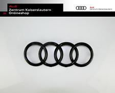 Audi Original Ringe schwarz glänzenden vorne A4 A6 A7 A8 Q3 Q5 Q7 4H0853605BT94