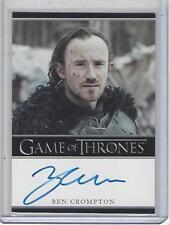 Game of Thrones Season 7 Ben Crompton (Bordered) autograph