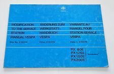 Modificación de planta mano libro Vespa px px80e p125e p150e p200e lusso Piaggio 211966