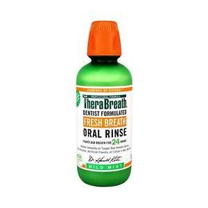 NEW TheraBreath - Oral Rinse - Mild Mint - 473ml