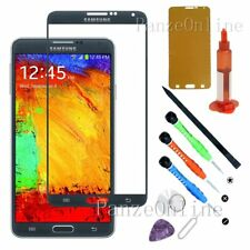 Replacement Front Screen Glass Lens For Samsung Galaxy Note 3 Tools Kit UV Glue