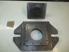 "#53: 3-1/2"" round blanking P&D, 1-1/2""shank, 10"" hole spacing, 8"" x 12"" bed area"