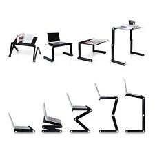 Portable E Table Laptop Table Portable Bed Tray Book Stand T8