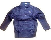 ADIDAS bambine maglia tuta giacca poliestere Guscio Zip 9-10yr color prugna