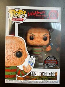 IN HAND FUNKO POP Freddy Krueger 224 Nightmare on elm street Special Edition