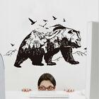 Removable Mountain Black Bear Wall Sticker Art Mural Wall Decal Home Decor Diy