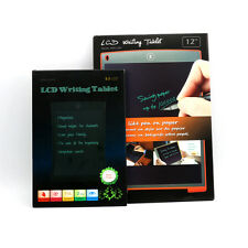 "8.5"" LCD Writing Tablet Message Board Refrigerator Memo Pad with Magnetic Back"