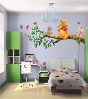 Winnie the Pooh Wall Sticker decor decal kids Nursery tigger LARGE 70*50 cm