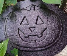 Halloween pumpkin mold plaster cement garden casting mould