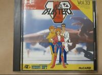 """"""" Aero Blasters """" NEC PC Engine Game Software Used From Japan"""
