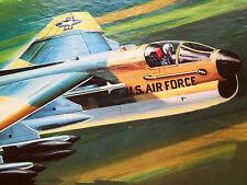 AURORA Kit No.395-250, Vought A-7D CORSAIR II, 1/48, MIB & COMPLETE, 1969