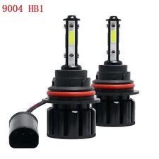 2x 9004 HB1 4side LED Headlight  High Low Beam Kit 100W 20000LM 6000K White