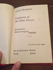 1982 Uniforms of the Elite Forces Book by Leroy Thompson