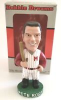 Limited Edition Pete Rose Macon Peaches Cincinnati Reds Bobble Head Bobblehead