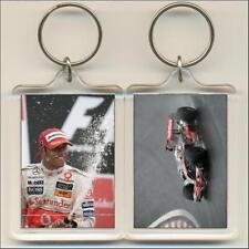 F1 Champions. 2008 Lewis Hamilton. Keyring / Bag Tag.