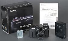 Mint Boxed Canon Power Shot G7X 20MP Mark II Point &  Shoot Camera + Warranty!