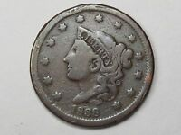 1838 US Coronet Head Large Cent.  #15