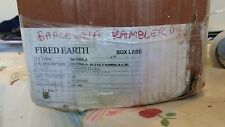 Brick style Fired Earth tiles Rare discontinued Barcelona Rambler