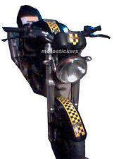 Ducati Monster - Fascia adesiva a scacchi centrale