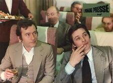 ALAIN DELON MICHEL DUCHAUSSOY L'HOMME PRESSE 1977 VINTAGE PHOTO ORIGINAL #5